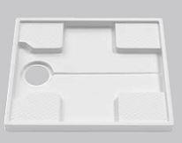 TOTO セット品番【PWSP74D2W】(PWP740N2W+PJ2003B) 洗濯機パン 740サイズ (旧品番 PWSP74DW)