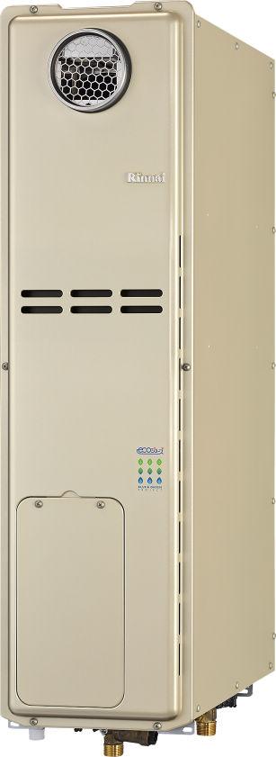 リンナイ ガス給湯暖房用熱源機【RUFH-SE2406AW2-3】フルオート 24号 スリムタイプ 屋外据置台設置
