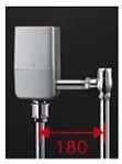 TOTO 大便器自動洗浄システム【TEVN10UC】オートクリーンC(露出タイプ) コンビネーションタイプ AC100V 人体感知センサーなし 床給水 標準品