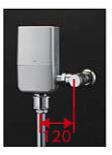 ###TOTO 大便器自動洗浄システム【TEVN40E】オートクリーンC(露出タイプ) ウォシュレット連動タイプ 壁給水 再生水用 受注約3週
