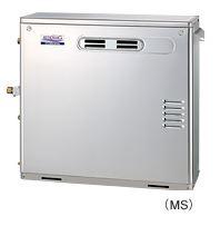 ###コロナ 石油給湯器【UKB-AG470MX(MS)】ボイスリモコン付属 給湯+追いだき 据置型 屋外設置 前面排気 アビーナG 水道直圧式