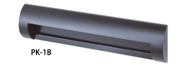 ####u.田島メタルワーク【PK-1B】シューター ステンレス製 ポストぐちシリーズ ブラック焼付塗装