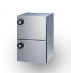 ####u.田島メタルワーク【PX-1-2H(myナンバー錠)】多目的小型ボックス パーソナルボックス 受注生産