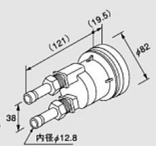 ♪ノーリツ 関連部材【0705088】循環アダプター HX-SS 20P