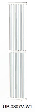 ###コロナ パネルコンベクター【UP-0307V-W1】壁掛縦形仕様 (旧品番 UP-0307V-W)