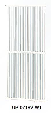 ###コロナ パネルコンベクター【UP-0716V-W1】壁掛縦形仕様 (旧品番 UP-0716V-W)