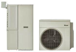 ###リンナイ【RHP-R222(E)+RTU-R505(E)-U+RHBD-R245AW2-1(E)+WOP-7201-HB(A)+WOP-7606】ECOONE ダブルハイブリッド給湯・暖房システム 50L狭小設置