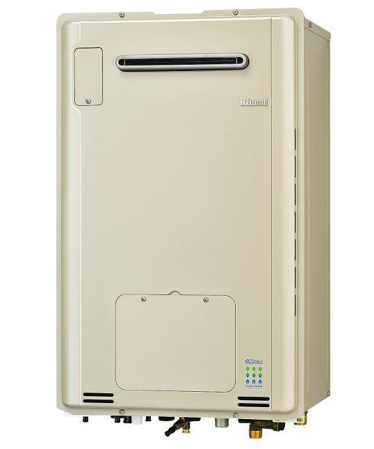 ###リンナイ【RUFH-TE2405SAW2-3】ガス給湯暖房用熱源機 屋外壁掛型 オート エコジョーズ 24号 2-3床暖房3系統熱動弁内臓 リモコン別売