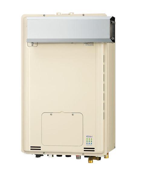 ###リンナイ【RUFH-TE2406SAA2-6】ガス給湯暖房用熱源機 アルコーブ設置型 オート エコジョーズ 24号 2-6床暖房6系統熱動弁内臓 リモコン別売