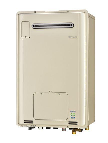 ###リンナイ【RUFH-TE2406AW2-6】ガス給湯暖房用熱源機 屋外壁掛型 フルオート エコジョーズ 24号 2-6床暖房6系統熱動弁内臓 リモコン別売