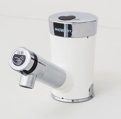 ミナミサワ【SWV】立水栓用 自動水栓 シャワリー