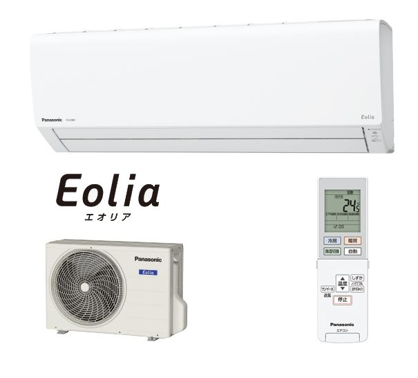 パナソニック ルームエアコン【CS-409CJ2 W】クリスタルホワイト 2019年 Jシリーズ Eolia(エオリア) 単相200V 14畳用 (旧品番 CS-408CJ2 W)