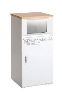 ####u.テラモト【DS-189-512-0】トラッシュボックスFT もえないゴミ用 受注生産