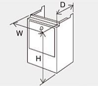 ###♪パーパス 設置用部材【HC-S4535】配管カバー 塩害対策塗装品 現地組立式 防振タイプ