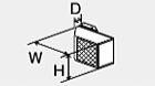###♪パーパス 排気部材【HM-2501-CS】排気カバー(斜方前方排気)