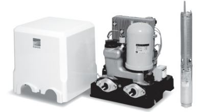 エバラ/荏原【25HPBH60.45E】HPBHE型(インバーター方式) 深井戸水中ポンプユニット 三相200V 0.45kW 50/60Hz共用
