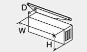 ###♪パーパス 排気部材【HY-4567】排気カバー(横出し排気)