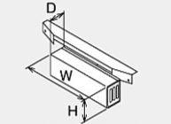 ###♪パーパス 排気部材【HY-5200】排気カバー(横出し排気)