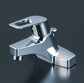 『カード対応OK!』KVK 水栓金具【KM7014THPEC】洗面用シングルレバー式混合栓 ポップアップ式(eレバー)