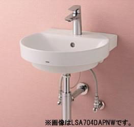 ###TOTO セット品番【LSA704CBSNW ###TOTO】ベッセル式洗面器セット一式 シングル混合水栓 ワンプッシュ式 (ヘアキャッチャー付) 床給水 床給水 床排水 床排水, 西予市:0707d4dc --- sunward.msk.ru