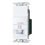 パナソニック 配線器具【WTK1811WK】コスモシリーズワイド21[壁取付]熱線センサ付自動スイッチ 2線式・3路配線対応形 LED専用 明るさセンサ・手動スイッチ付