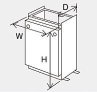 ###♪パーパス 設置用部材【SD-4528】据置台 塩害対策塗装品
