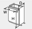 ###♪パーパス 設置用部材【SD-6534】据置台 塩害対策塗装品