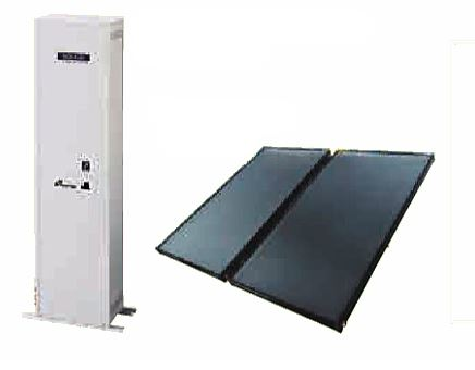 ###♪パーパス【SPCTU-TP04-2】太陽熱温水システム 屋外据置形 SORAJU(ソラージュ) 給湯器分離型 貯湯量90L