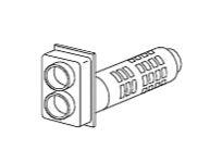 ###♪パーパス ふろがま関連部材【TP-BFDT-5】給排気筒トップ BFDP式
