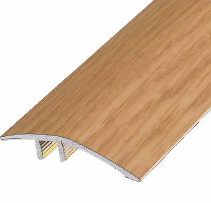 ####u.アシスト/Assist【20-585(OL) (3m)】床金物 フローリング見切り インサート アルミ製 オークライト
