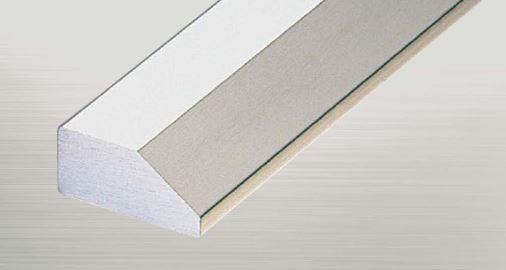 ####u.アシスト/Assist【20-668-2 (2m)】床金物 傾斜見切り ステンレス傾斜目地 ステンレス製 穴有 磨き仕上げ