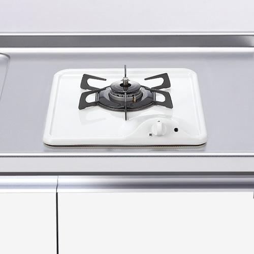 ###マイセット 関連器具【DC1004SB】調理器具 1口・グリル無しガスコンロ
