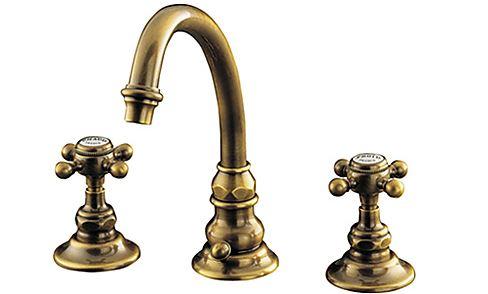 CERA/セラ【HR2260T-AB】アンティークブラス エロイーズ 湯水混合栓