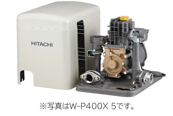 日立 ポンプ【W-K750X】浅井戸用非自動ポンプ 三相200V 出力750W (旧品番 W-K750W)