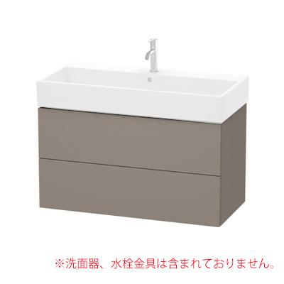 ###CERA/セラ【DV8002-43】バサルトマット キャビネットセット (キャビネット・洗面器・排水目皿・取付金具・排水トラップ) L-CUBE (エルキューブ)シリーズ