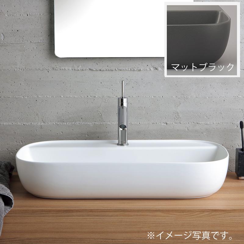 CERA/セラ【SB1801-37】マットブラック 洗面ボウル (洗面器) 洗面器のみ GLAM (グラム)シリーズ