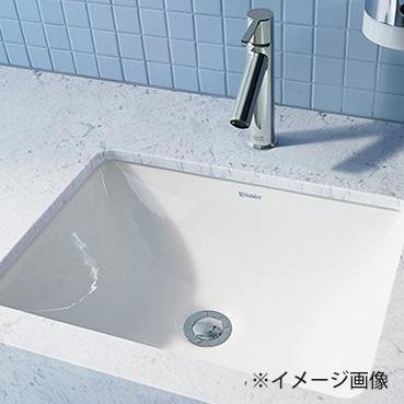 CERA/セラ【DV030549R-00】ホワイト 洗面ボウル (洗面器) 洗面器のみ STARCK3 (スタルク3)シリーズ