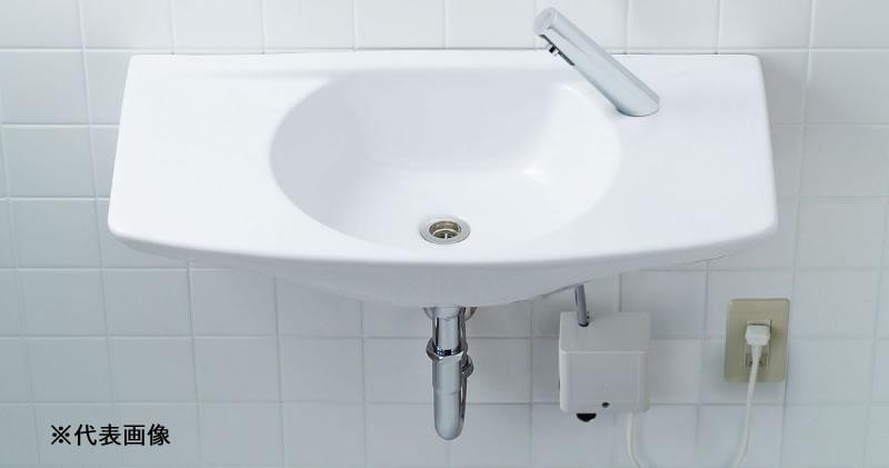 ▽INAX/LIXIL 洗面器【L-275FCR-H】車椅子対応洗面器 カウンター一体形洗面器(オーバーフロー穴なし) 洗面器本体のみ 受注約3週