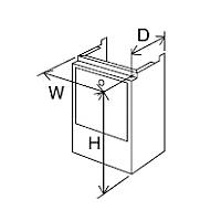 ###♪パーパス 給湯器 部材【HC-S6039】配管カバー 塩害対策塗装品