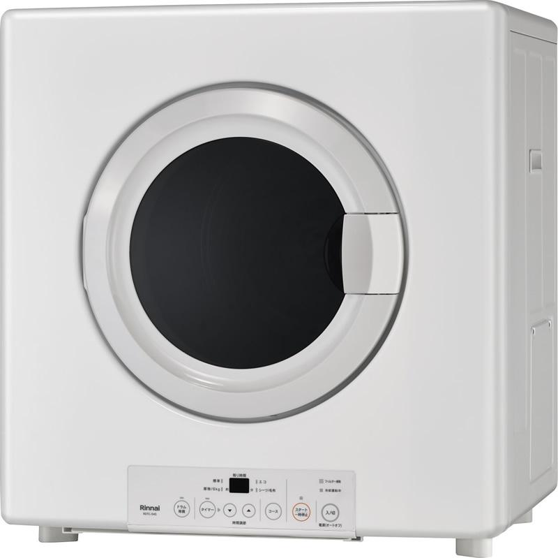 ###リンナイ 業務用ガス衣類乾燥機【RDTC-534SU】はやい乾太くん 乾燥容量 5.0Kg ネジ接続タイプ AC100V 左右可変ドア 受注生産 (旧品番 RDTC-53SU)
