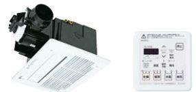 『カード対応OK!』ノーリツ 浴室暖房・乾燥【BDV-3306AUKNSC-BL】天井カセット形 1室自動乾燥機能付タイプ コンパクト
