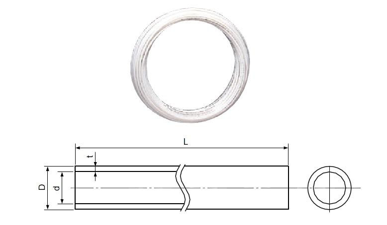 ‡‡‡積水化学工業 エスロン【PEX10J】架橋ポリエチレン管 エスロペックス(内管) 呼び径 10