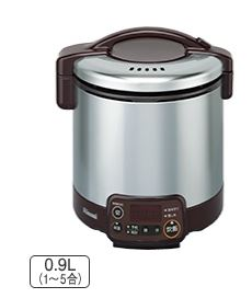 『カード対応OK!』リンナイ ガス炊飯器 こがまる【RR-050VMT(DB)】ダークブラウン VMTシリーズ 0.9L 電気ジャー付 タイマー付