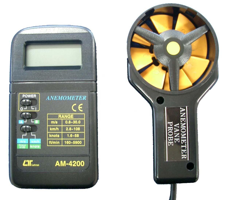 『カード対応OK!』###ωマザーツール【AM-4200】デジタル風速計
