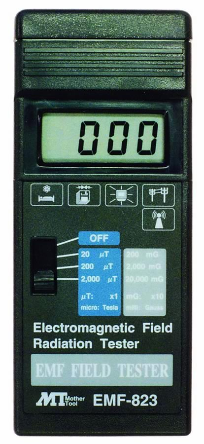 『カード対応OK!』###ωマザーツール【EMF-823】デジタル電磁界強度テスタ