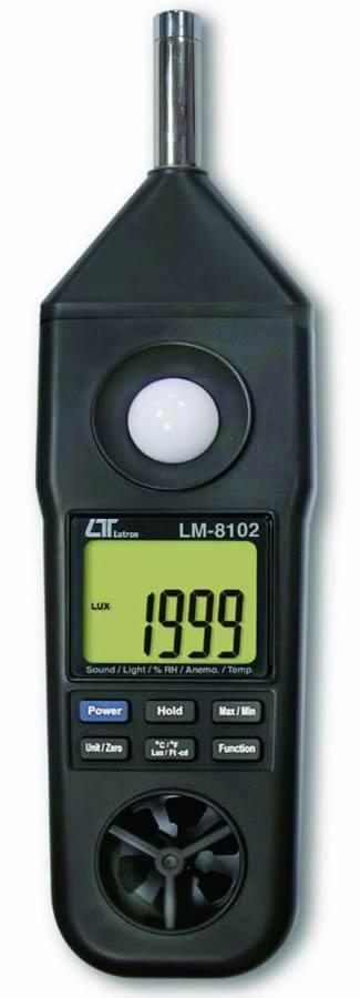 『カード対応OK!』###ωマザーツール【LM-8102】マルチ環境測定器