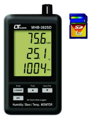 『カード対応OK!』###ωマザーツール【MHB-382SD】デジタル温湿度・気圧計