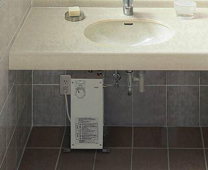 『カード対応OK!』TOTO 湯ぽっと セット品番【REW06A1E1SSCM】パブリック用洗面・手洗用 AC100V 約6L据え置きタイプ (旧品番 REWS06A1E1M1)