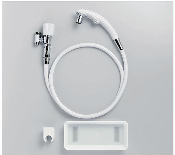 TOTO バリアフリー器具【T95WRR】しびん洗浄水栓 ケアクリック(逆止弁付) (旧品番 T95WN)
