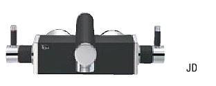 ###≧π三栄水栓/SANEI 水栓金具【K2530-JD-13】ツーバルブ混合栓 墨磁 受注生産